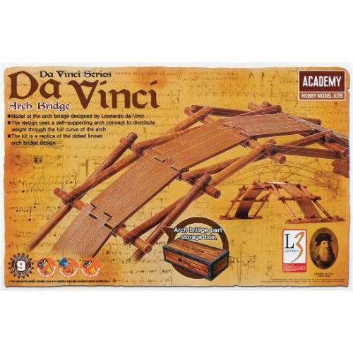 Leonardo da Vinci Bridge (no glue)