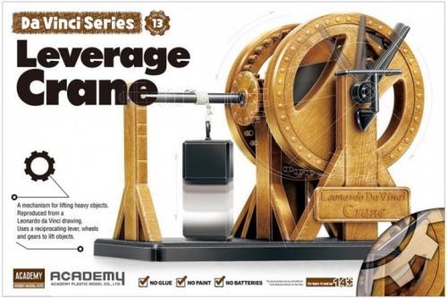 Leonardo da Vinci Leverage Crane (no glue, movable parts)