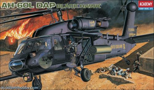 Ah-60 L Dap Black Hawk 1/35