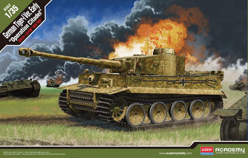 "Tiger I early ""Operation Citadel"" 1/35"
