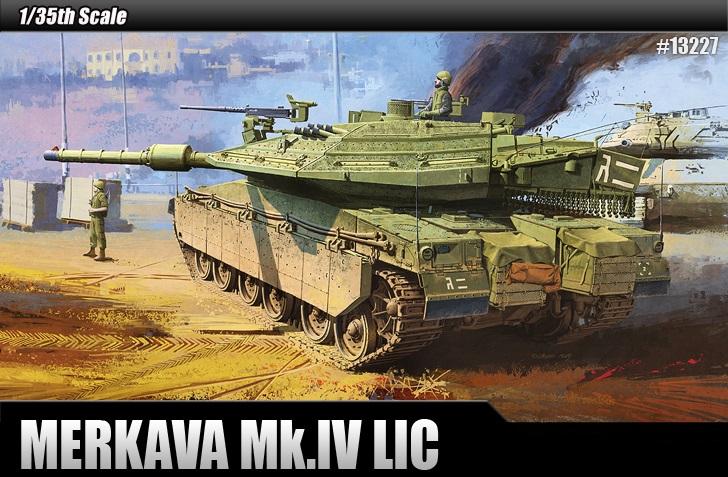 IDF MBT Merkava MK IV LIC 1/35