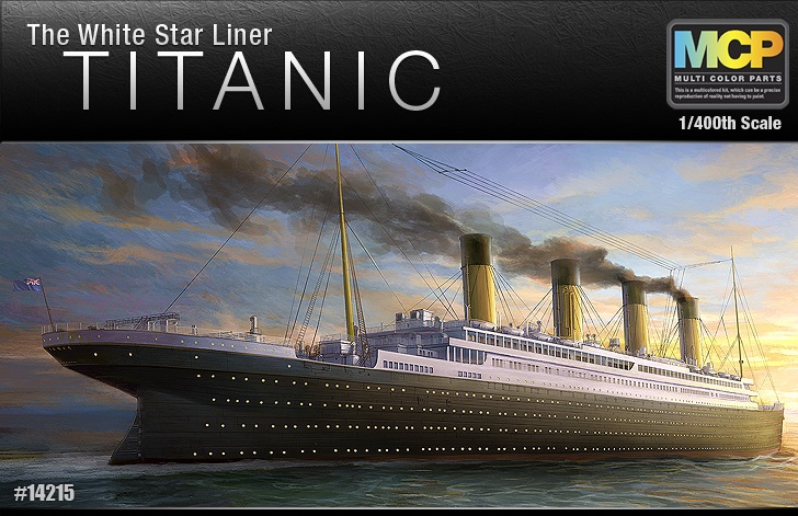 Titanic White Star 1/400