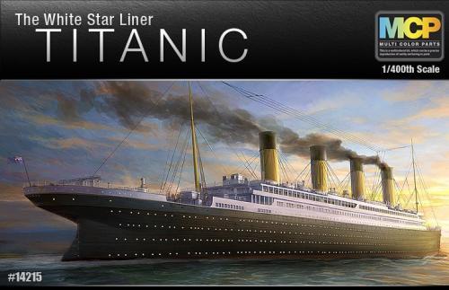 Titanic White Star 1/400