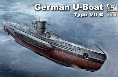 German U-Boat Type VII B 1/350