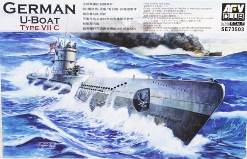 German U-Boat Type VII C 1/350