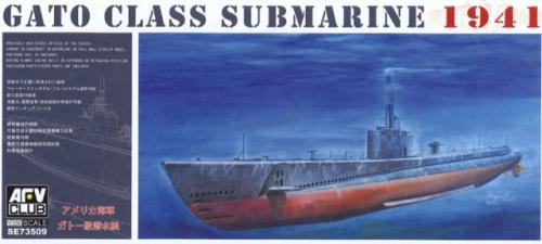 USS Gato Class Submarine 1941 1/350