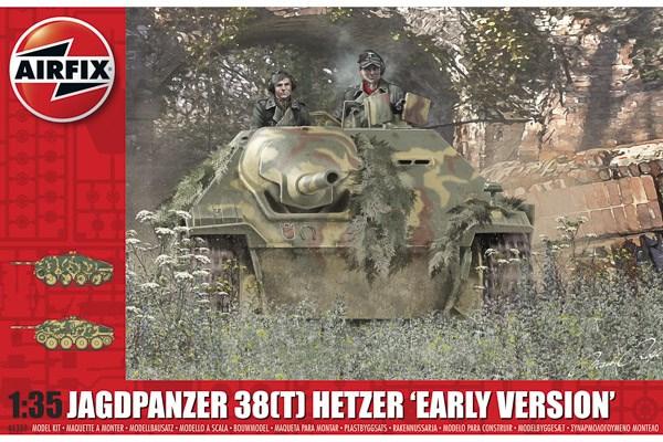 "JAGDPANZER 38 TONNE HETZER ""EARLY VERSION"" 1/35"