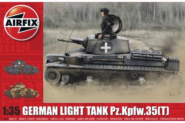 German Light Tank Pz.Kpfw.35(t) 1/35
