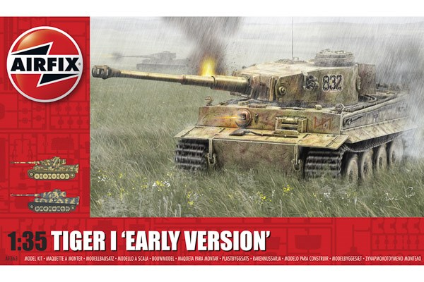 """Tiger-1 """"Early Version"""" 1/35"""