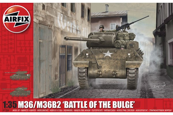 "M36/M36B2 ""Battle of the Bulge"" 1/35"