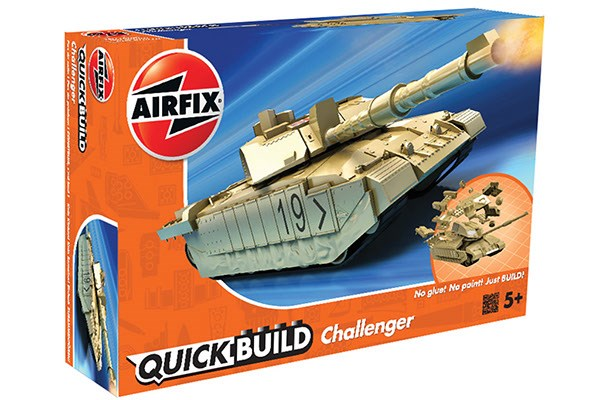 QUICK BUILD CHALLENGER TANK - DESERT