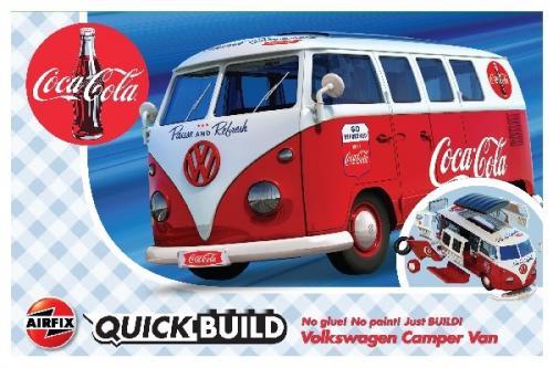 QUICK BUILD COCA-COLA VW CAMPER VAN