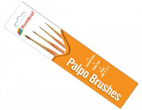 Palpo Brush Pack - (x4) 000/0/2/4