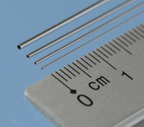 Aluminium Micro Tube, 0.5 mm x 0.3 mm i.d., 3pcs, 305mm