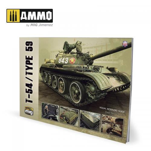 T-54/TYPE 59 – VISUAL MODELERS GUIDE (English)