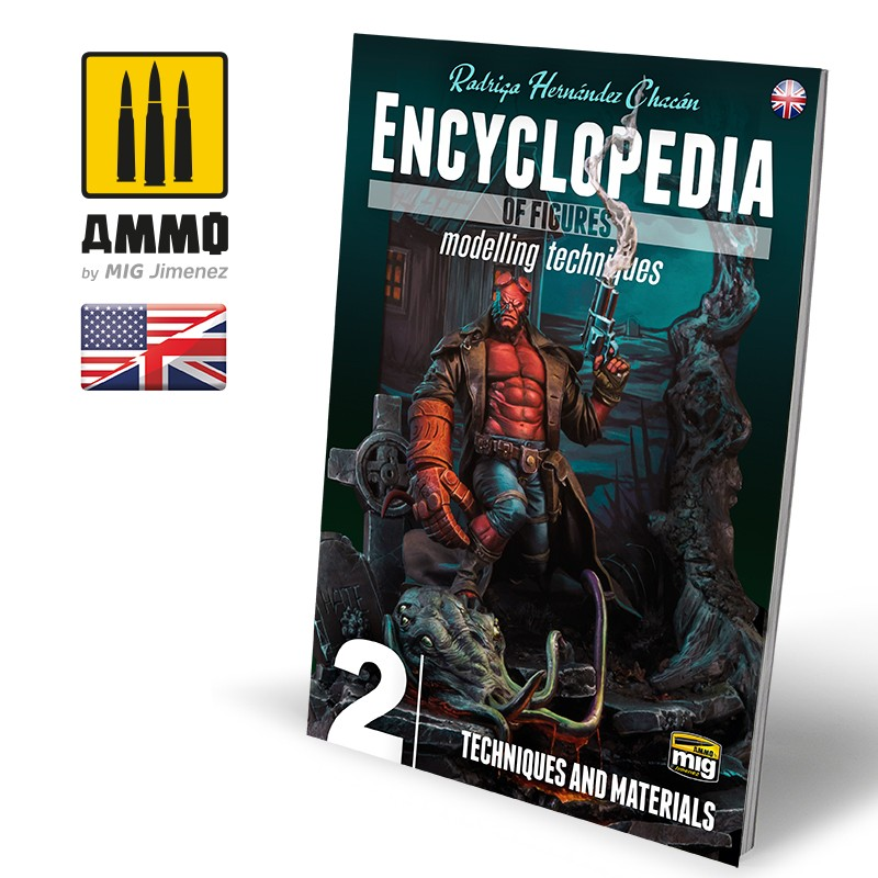 ENCYCLOPEDIA OF FIGURES MODELLING TECHNIQUES VOL. 2 - TECHNIQUES & MATERIALS (English)