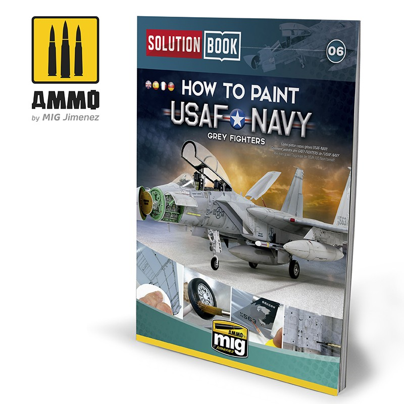 How to Paint USAF/USN Grey Fighters - Solutions Book