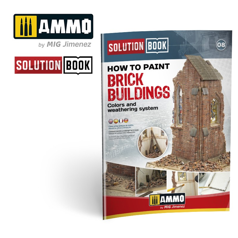 How to Paint Brick Buildings. Colors & Weathering System Solution Book