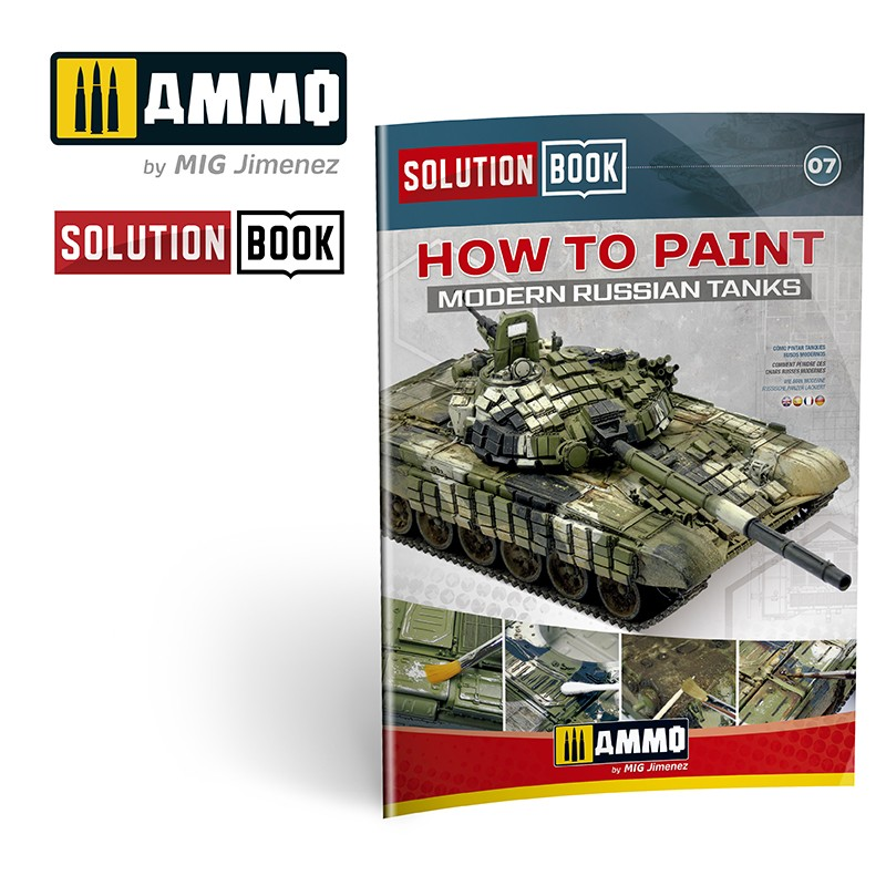 How to Paint Modern Russian Tanks - Solution Book