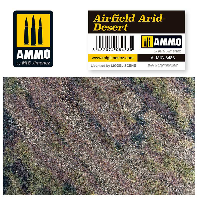 Airfield Arid Desert