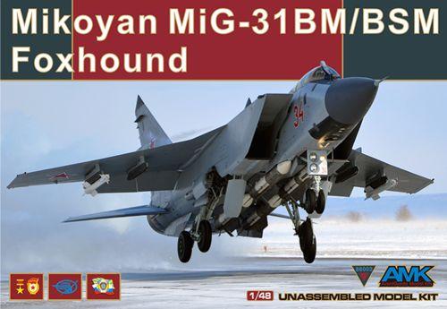 Mikoyan MiG-31BM Foxhound 1/48