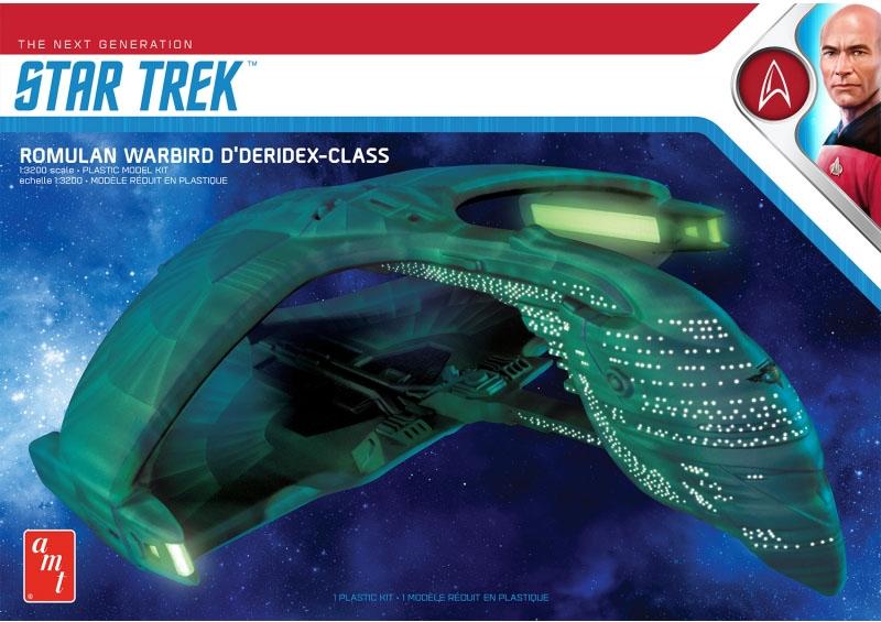 Star Trek The Next Generation Romulan Warbird D'deridex Class Battle Cruiser 1/3200
