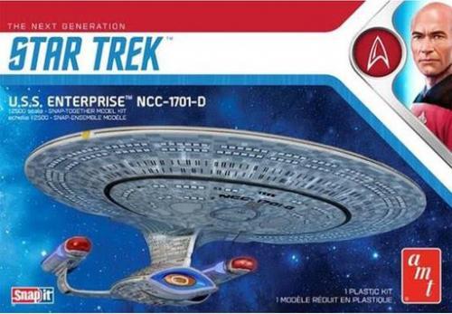 Star Trek The Next Generation U.S.S. Enterprise NCC-1701-D (Snap kit) 1/2500