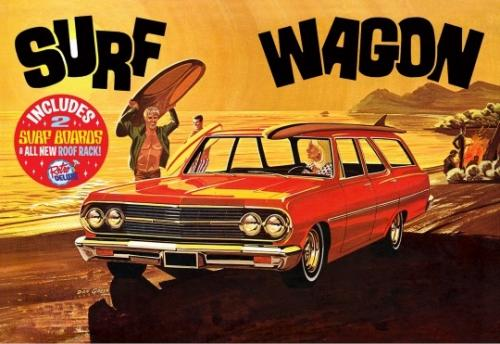 1965 Chevy Chevelle Surf Wagon 1/25