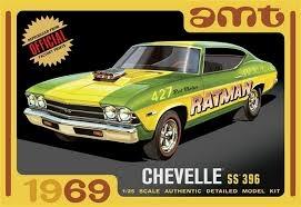 1969 Chevy Chevelle Hardtop 1/25
