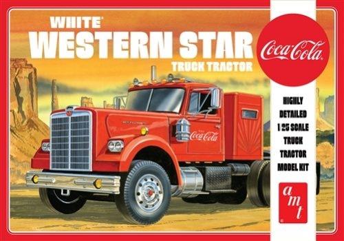 White Western Star Semi Tractor Coca Cola 1/25