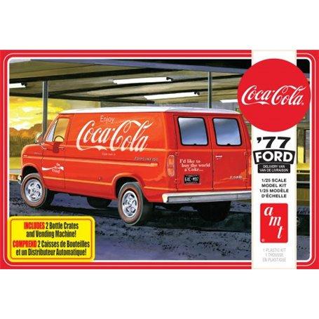 1977 Ford Van w. Vending Machine Coca Cola 1/25