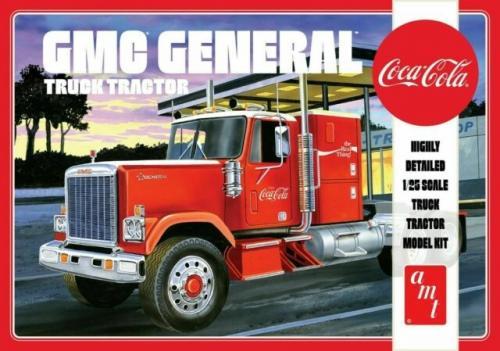 1976 GMC GENERAL SEMI TRACTOR (COCA-COLA) 1/25