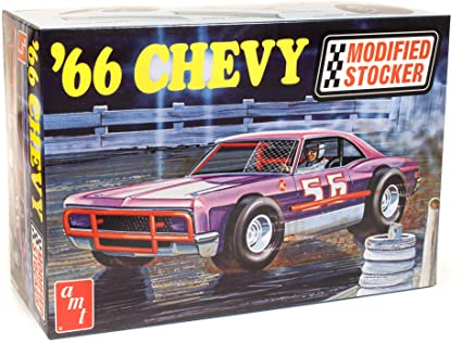 1966 CHEVY IMPALA MODIFIED STOCKER 1/25