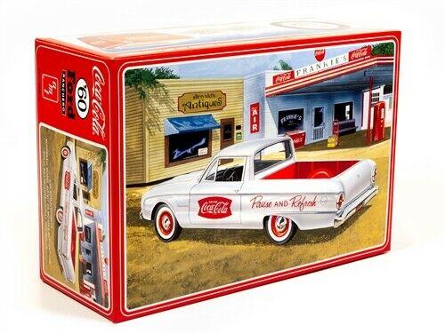 1960 FORD RANCHERO W/COKE CHEST (COCA-COLA) 1/25