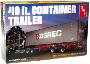40' Semi Container Trailer 1/25