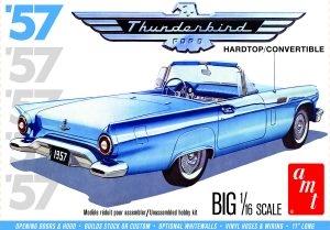 1957 Ford Thunderbird 1/16