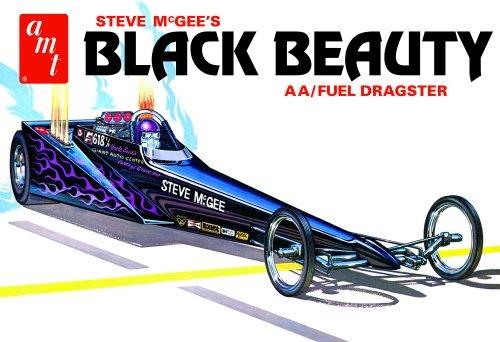 Steve McGee Black Beauty Wedge Dragster 1/25