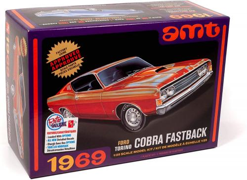 1969 Ford Torino Cobra Fastback 1/25