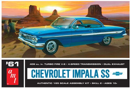 1961 Chevy Impala SS 1/25