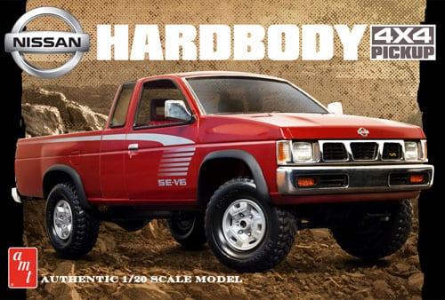 1993 Nissan Hardbody 4×4 Pickup 1/20