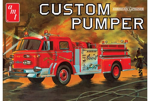 American LaFrance Pumper Fire Truck 1/25