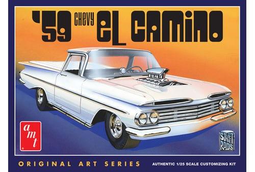 1959 Chevy El Camino 1/25