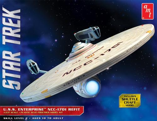 Star Trek USS Enterprise Refit 1/537