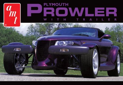 1997 Plymouth Prowler with Trailer 1/25