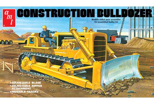 Construction Bulldozer 1/25
