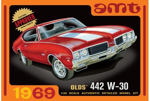 1969 Olds 442 W-30 1/25