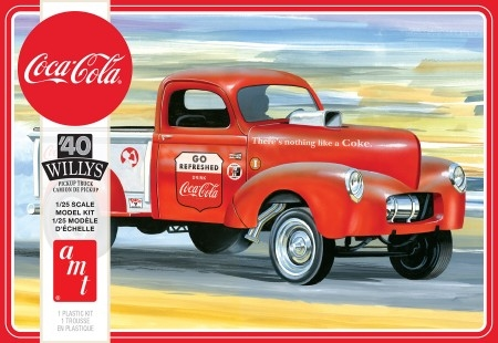 1940 Willys Gasser Pickup Coca Cola 1/25