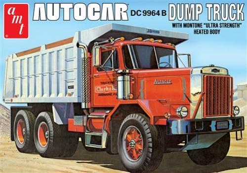 Autocar Dump Truck 1/25