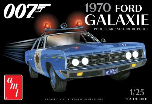 1970 FORD GALAXIE POLICE CAR (JAMES BOND) 1/25