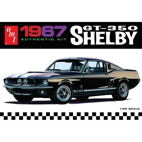 1967 Shelby GT350 - White - 1/25